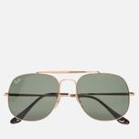 Солнцезащитные очки Ray-Ban The General Gold/Green Classic G-15 фото- 0