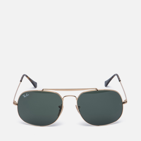Солнцезащитные очки Ray-Ban The General Gold/Green Classic G-15