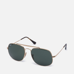 Солнцезащитные очки Ray-Ban The General Gold/Green Classic G-15 фото- 1