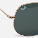 Солнцезащитные очки Ray-Ban The General Gold/Green Classic G-15 фото- 2