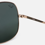 Солнцезащитные очки Ray-Ban The General Gold/Green Classic G-15 фото- 3