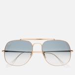 Солнцезащитные очки Ray-Ban The General Gold/Light Blue Gradient фото- 0