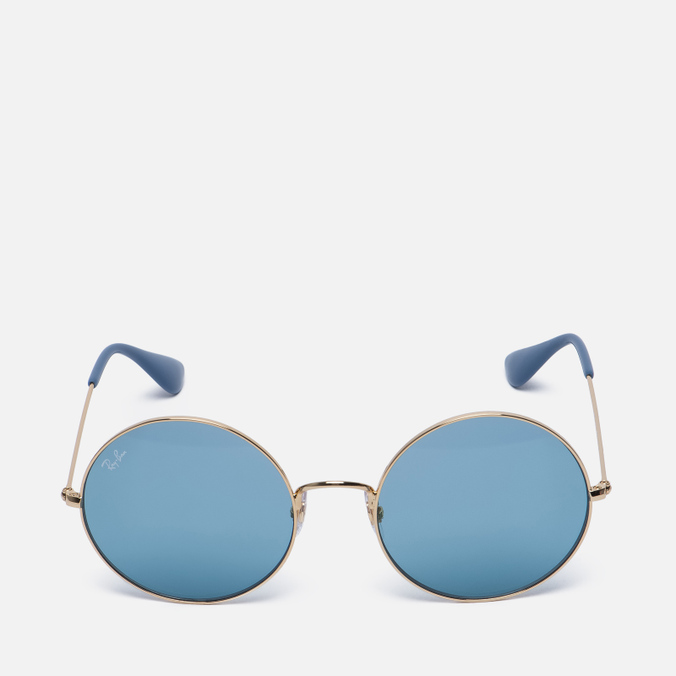 Солнцезащитные очки Ray-Ban The Ja-Jo Gold/Light Blue Classic