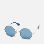 Солнцезащитные очки Ray-Ban The Ja-Jo Gold/Light Blue Classic фото- 1