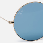Солнцезащитные очки Ray-Ban The Ja-Jo Gold/Light Blue Classic фото- 2