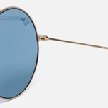 Солнцезащитные очки Ray-Ban The Ja-Jo Gold/Light Blue Classic фото- 3