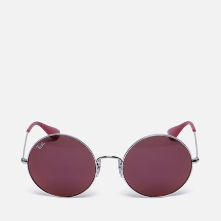 Солнцезащитные очки Ray-Ban The Ja-Jo Silver/Red Classic