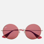 Солнцезащитные очки Ray-Ban The Ja-Jo Silver/Red Classic фото- 0