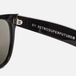 Солнцезащитные очки RETROSUPERFUTURE Classic Black Blue фото- 2