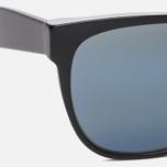 Солнцезащитные очки RETROSUPERFUTURE Classic Black Blue фото- 3