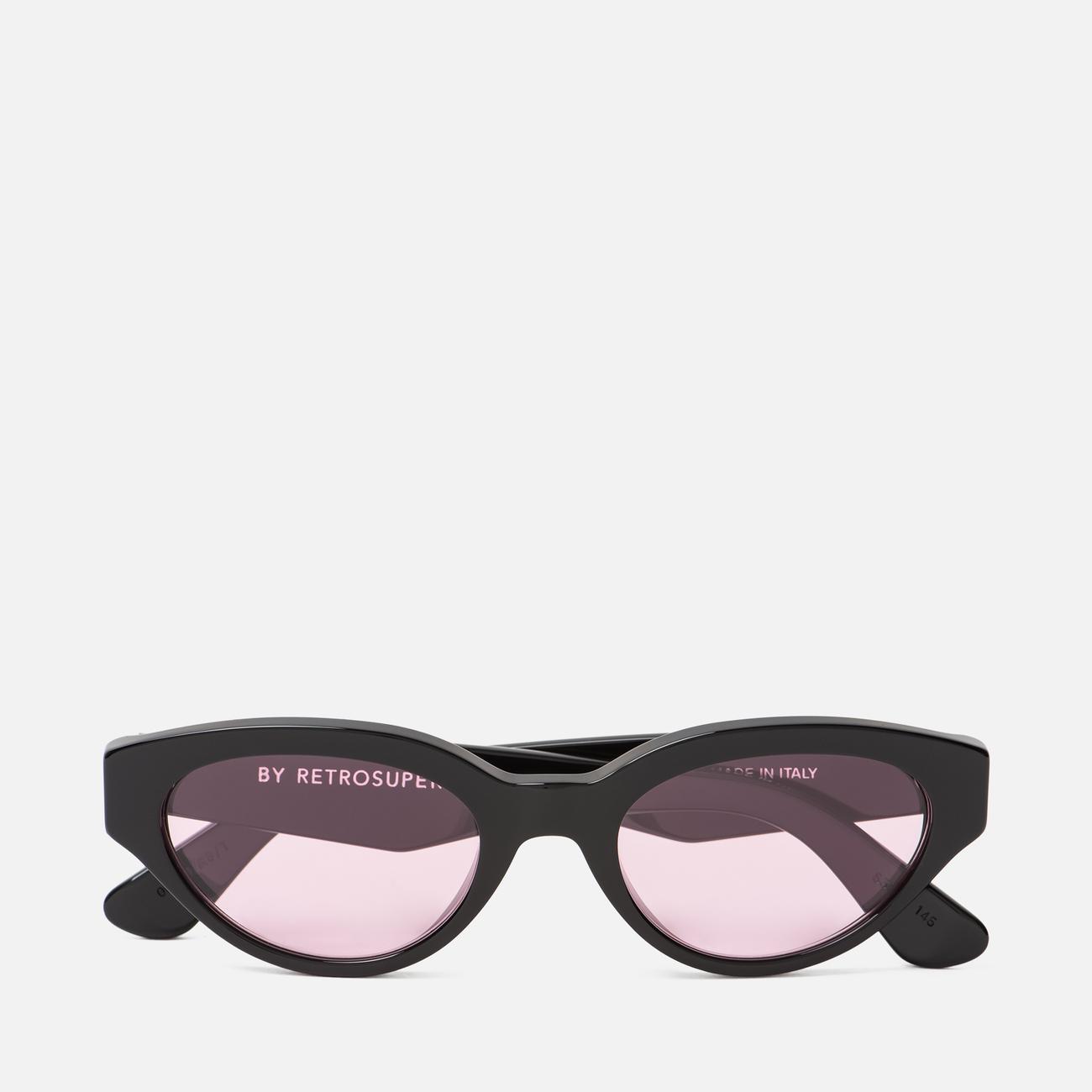 Солнцезащитные очки RETROSUPERFUTURE Drew 53 Black Pink