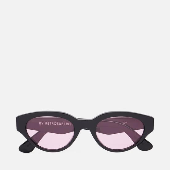 Солнцезащитные очки RETROSUPERFUTURE Drew Black Pink
