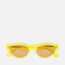 Солнцезащитные очки RETROSUPERFUTURE Drew 53 Hot Yellow фото- 0