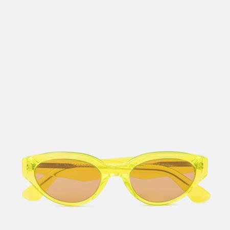 Солнцезащитные очки RETROSUPERFUTURE Drew Hot Yellow 53