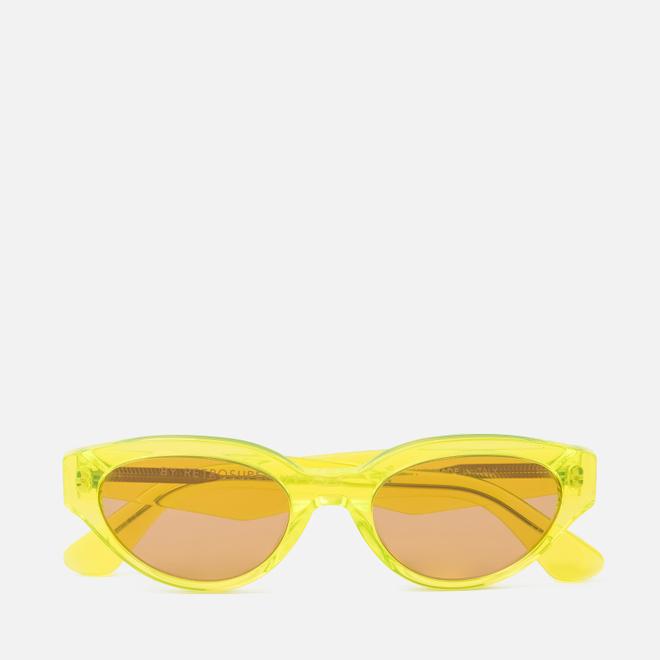 Солнцезащитные очки RETROSUPERFUTURE Drew 53 Hot Yellow
