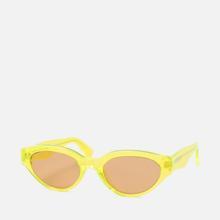 Солнцезащитные очки RETROSUPERFUTURE Drew 53 Hot Yellow фото- 1
