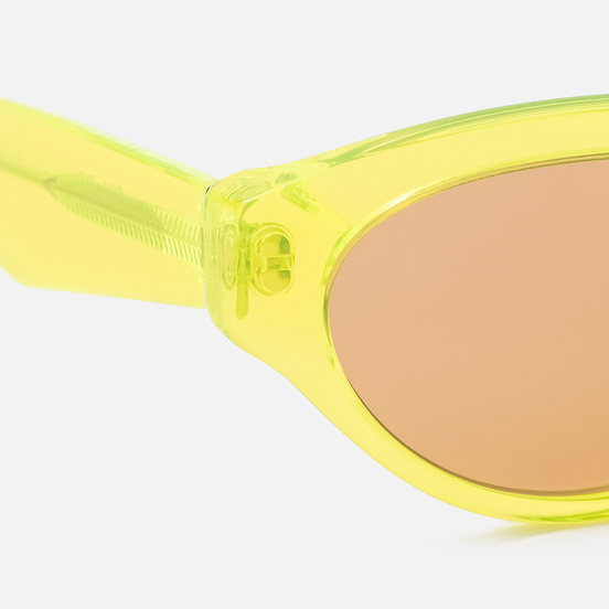 Солнцезащитные очки RETROSUPERFUTURE Drew Hot Yellow