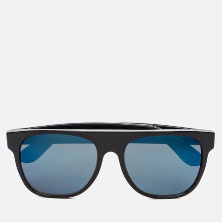 Солнцезащитные очки RETROSUPERFUTURE Flat Top Black Blue