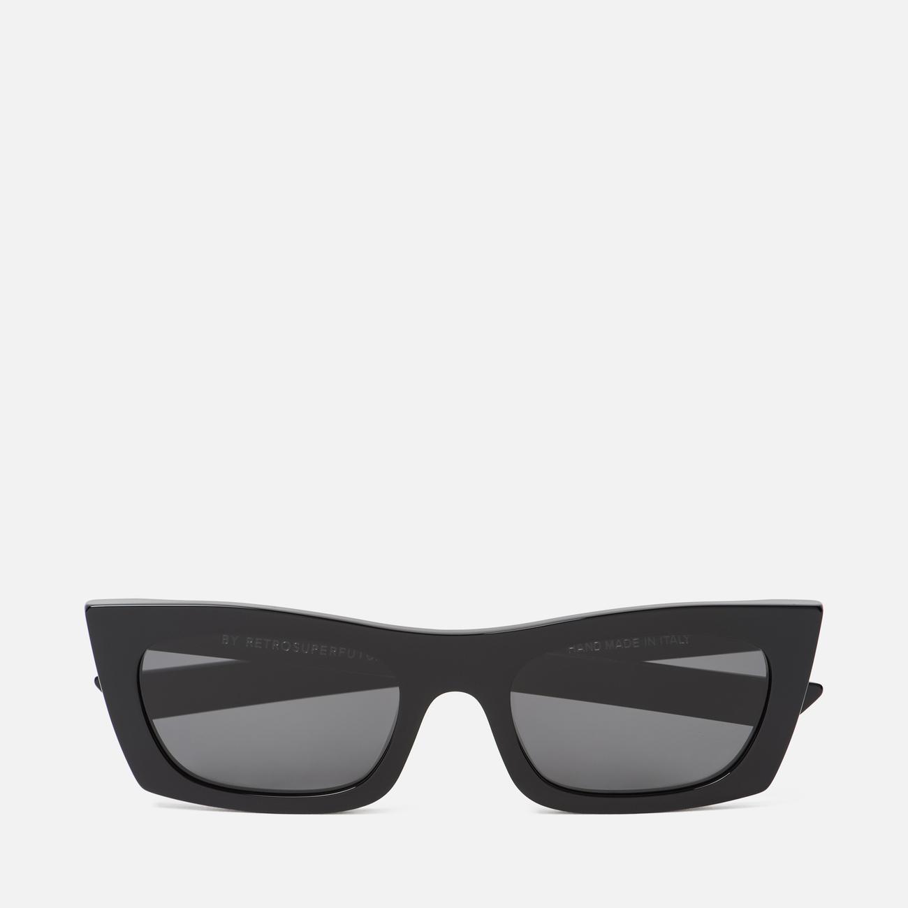 Солнцезащитные очки RETROSUPERFUTURE Fred 53 Black