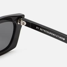 Солнцезащитные очки RETROSUPERFUTURE Fred 53 Black фото- 3