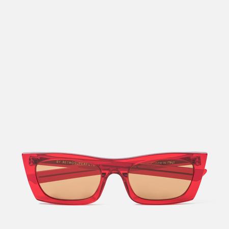 Солнцезащитные очки RETROSUPERFUTURE Fred Crystal Red 53