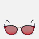 Солнцезащитные очки RETROSUPERFUTURE Giaguaro Forma Red фото- 0