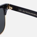 Солнцезащитные очки RETROSUPERFUTURE Lele Black фото- 3