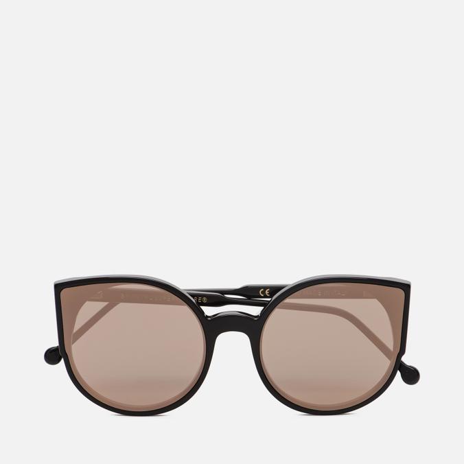 Солнцезащитные очки RETROSUPERFUTURE Lucia Forma Rose Gold
