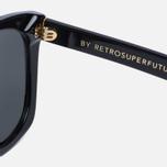 Солнцезащитные очки RETROSUPERFUTURE Quadra Black фото- 2