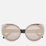 Солнцезащитные очки RETROSUPERFUTURE Rita Black Ivory фото- 0