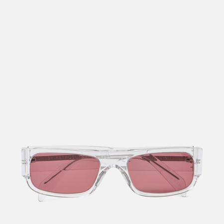Солнцезащитные очки RETROSUPERFUTURE Smile Crystal Bordeaux 54