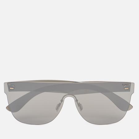 Солнцезащитные очки RETROSUPERFUTURE Tuttolente Flat Top Silver