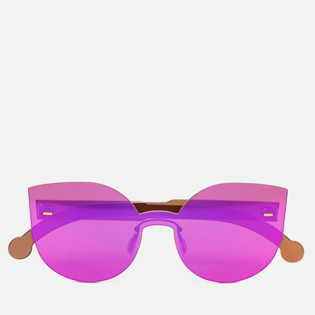 Солнцезащитные очки RETROSUPERFUTURE Tuttolente Lucia Pink