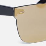 Солнцезащитные очки RETROSUPERFUTURE Tuttolente Screen Flat Top Gold фото- 2