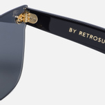 Солнцезащитные очки RETROSUPERFUTURE Tuttolente Screen Flat Top Gold фото- 3