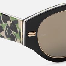 Солнцезащитные очки RETROSUPERFUTURE x Bape Drew Mama Black фото- 4