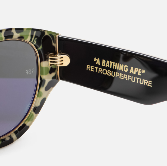 Солнцезащитные очки RETROSUPERFUTURE x Bape Drew Mama Black