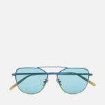 Солнцезащитные очки RETROSUPERFUTURE x Visionari Sun Turquoise Fade 54 фото- 0