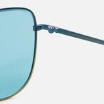 Солнцезащитные очки RETROSUPERFUTURE x Visionari Sun Turquoise Fade 54 фото- 3