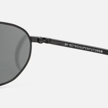 Солнцезащитные очки RETROSUPERFUTURE Zebedia 66 Black фото- 3