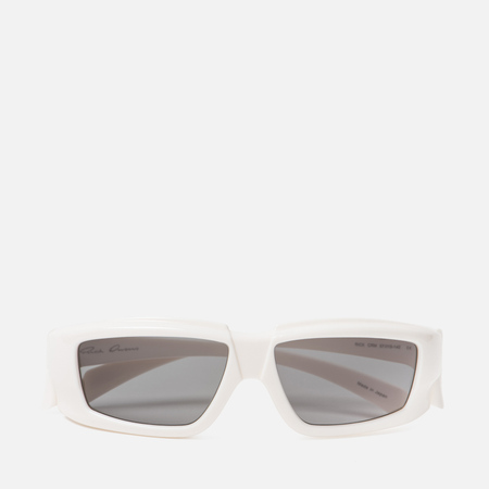 Солнцезащитные очки Rick Owens Rick Cream Temple/Black Lens