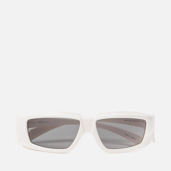 Солнцезащитные очки Rick Owens Rick Cream Temple/Black Lens