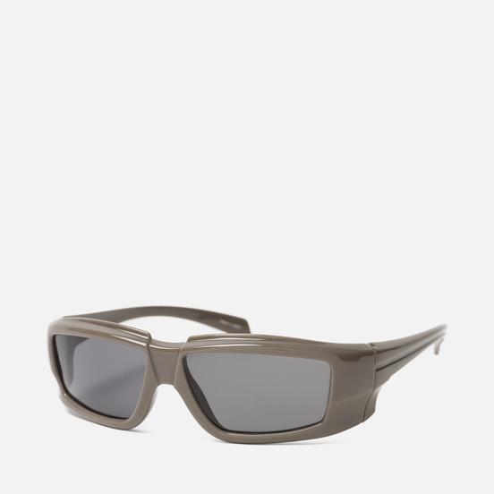 Солнцезащитные очки Rick Owens Rick Dust Temple/Black Lens