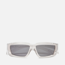 Солнцезащитные очки Rick Owens Rick Transparent Temple/Black Lens фото- 0