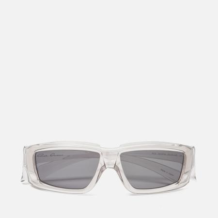 Солнцезащитные очки Rick Owens Rick Transparent Temple/Black Lens
