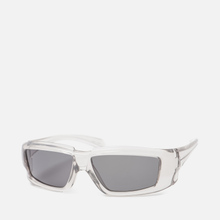 Солнцезащитные очки Rick Owens Rick Transparent Temple/Black Lens фото- 1