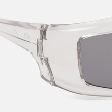 Солнцезащитные очки Rick Owens Rick Transparent Temple/Black Lens фото- 2