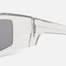 Солнцезащитные очки Rick Owens Rick Transparent Temple/Black Lens фото- 3