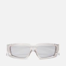 Солнцезащитные очки Rick Owens Rick Transparent Temple/Silver Lens фото- 0
