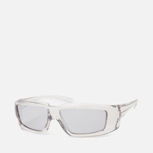 Солнцезащитные очки Rick Owens Rick Transparent Temple/Silver Lens фото- 1